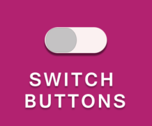 Stylish Switch Button using CSS3