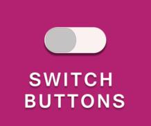 Stylish Switch Button using CSS3