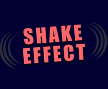 Shake Effect CSS3