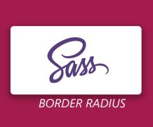 Sass Mixin for border-radius