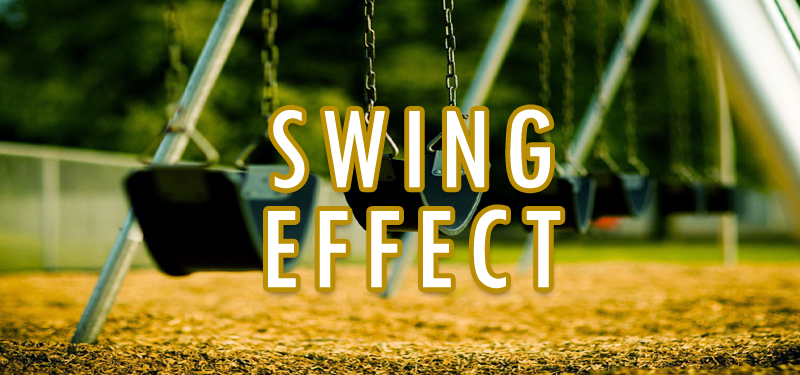 Swing Effect with css3 keyframe, transition properties